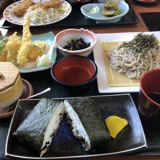 天ざるそば定食(さんぞくや 姪浜店 (【旧店名】山賊鍋))