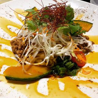 汁なし担々麺(大豊記 御成門 (タイホウキ オナリモン))