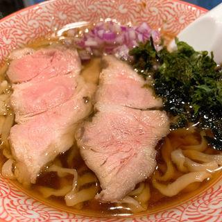 淡麗ニボシてもみ麺(麺や べらぼう)