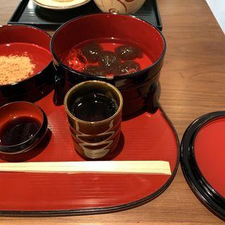 わらび餅(老松 嵐山店 (おいまつ))