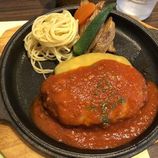 イタリアンハンバーグセット