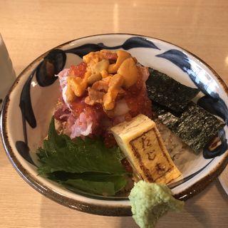 贅沢海鮮丼 雲丹盛(鮨 たじま)