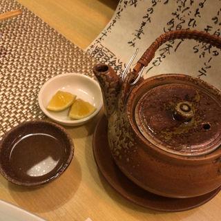 松茸の土瓶蒸し(酒菜いとう )