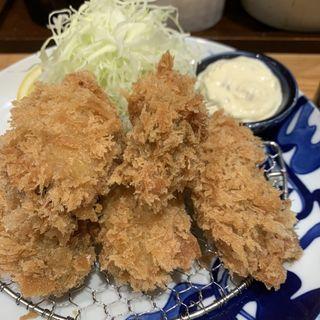 カキフライ定食(とんかつ 寿々木 )