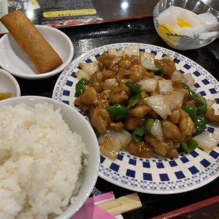 鶏とカシューナッツ炒め(嘉賓 御茶ノ水店 (カヒン))