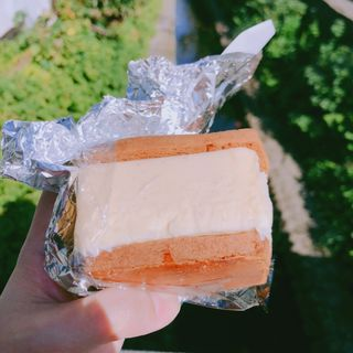 クッキーサンドアイス バニラ(DAILY by LONG TRACK FOODS)