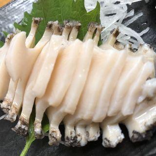 トコブシ刺身(多け乃 (たけの))