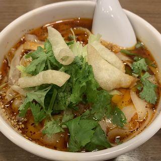 サンラー刀削麺ハーフ(XI'AN 神田西口店 (シーアン))