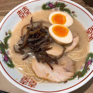博多ラーメン煮玉子入り(博多だるまJAPAN イオンモール幕張新都心店 )