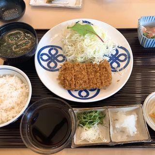 ヒレカツ定食(とんかつ まい泉 青山本店 (まいせん))