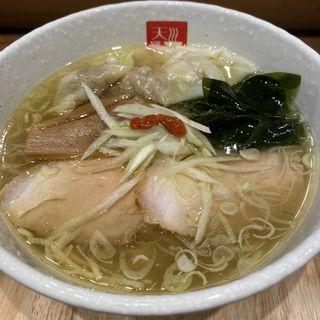 ワンタン塩らあめん(麺処 天川)