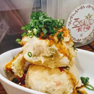 ザーサイポテトサラダ(アガリコ 餃子楼 新橋店)