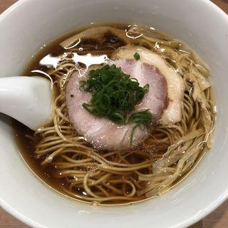 醤油らぁ麺(らぁ麺 はやし田 武蔵小杉店)