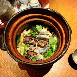 秋刀魚生姜 土鍋ごはん(高太郎 (こうたろう))