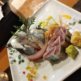 秋刀魚のお造り(海鮮酒場 喰場の心 (カイセンサカバ クバノココロ))