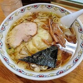 ワンタン麺(春木屋 荻窪本店)