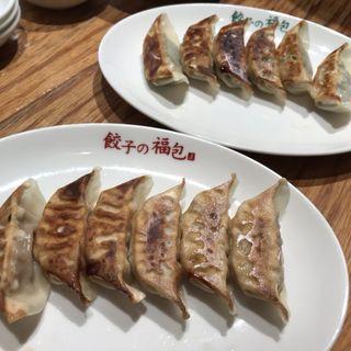 焼き餃子(餃子の福包 代々木八幡店)