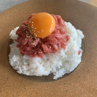 ユッケ丼(onique tokyo)