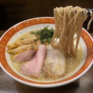 地鶏パイタンラーメン(限定)(麺や一芯)