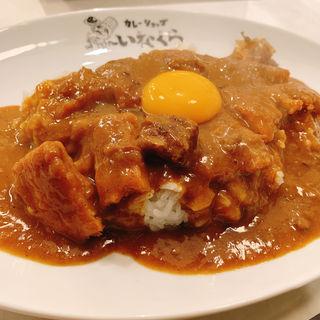 カツカレー(カレーショップいなくら)