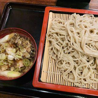 山形肉つけ蕎麦(蕎麦・ダイニング・バー 煮物や 艶 (ソバダイニングバーニモノヤエン))