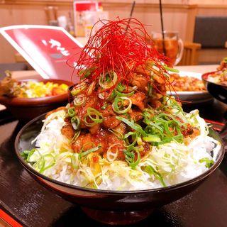 豚カルビ丼(カルビ火山 堂島店)