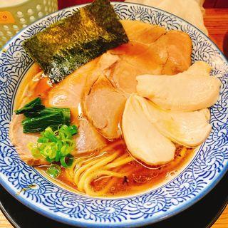 特製醤油ラーメン(麺匠而今 (ジコン))