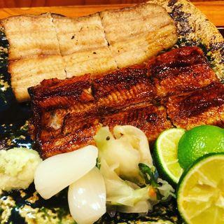 熟成鰻の蒲焼と白焼