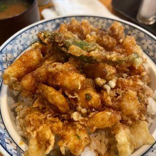 かき揚げ丼(光村 (みつむら))