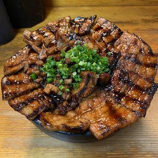 大豚丼(炭火豚丼 豚野郎)