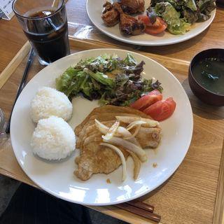 生姜焼き(Onigily Cafe (オニギリーカフェ))