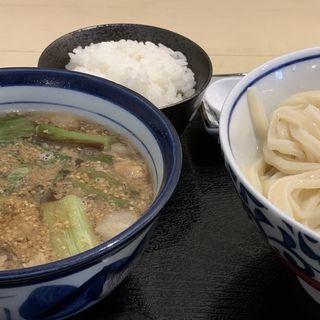 ホルモンつけ麺(手しごと讃岐うどん 讃々 (さんさん))