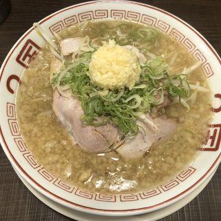ニンニクらーめん(ラーメン2国 お初天神店)