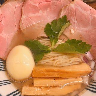 しまなみ海道玉藻塩らーめん(スパ石井玉子肉増し)(ちゅーかそば 帳)