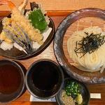 天ぷらざる(うどんや ぼの )