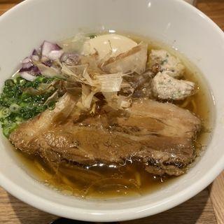 鮪節ラーメン(鶏と鮪節 麺屋 勝時)