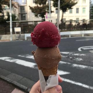 アイスクリーム ダブル(アテスウェイ グラスエショコラ)