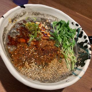 黒担々麺(みなみ食堂)