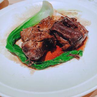 宮崎県産 黒豚のやわらか角煮(らかん・果)