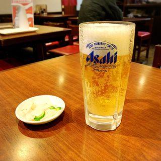 生ビール(中)(高伸)