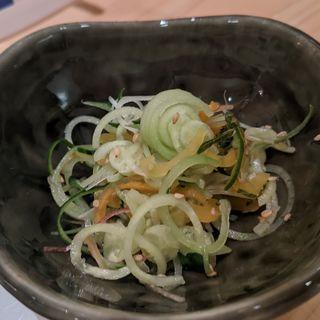 お新香サラダ(波やし)