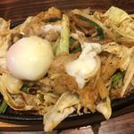 ホルモン鉄板(旬味旬菜 大和)
