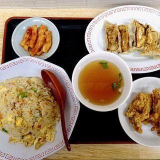 焼餃子定食(山東飯店 )
