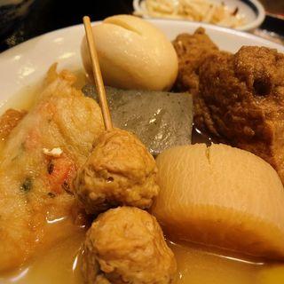関東煮定食(たこ梅 東店 (たこうめ))