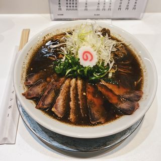 加里ラーメン+叉焼トッピング(上方レインボー)
