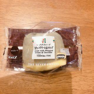 もっちりクレープ 生チョコクリーム&ホイップ(セブンイレブン 横浜北寺尾7丁目店)