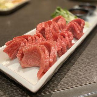 和牛ロースのわさび醤油焼き(味樹園 泉店 (ミキエン))