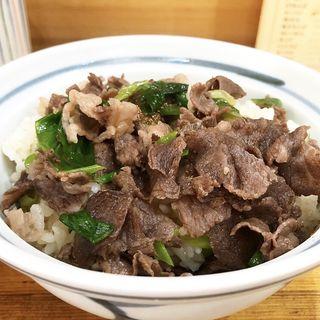 肉丼(麺処 豊國堂)