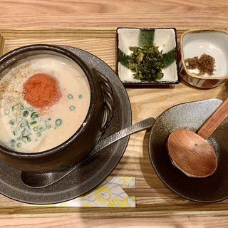 白味噌と豆乳の明太クリーム(平打ち麺)(東京たらこスパゲティ)