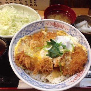 ロースかつ丼(立呑み とんかつ まるや 新橋店 )
